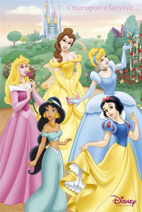 Walt Disney Princesses [UD]